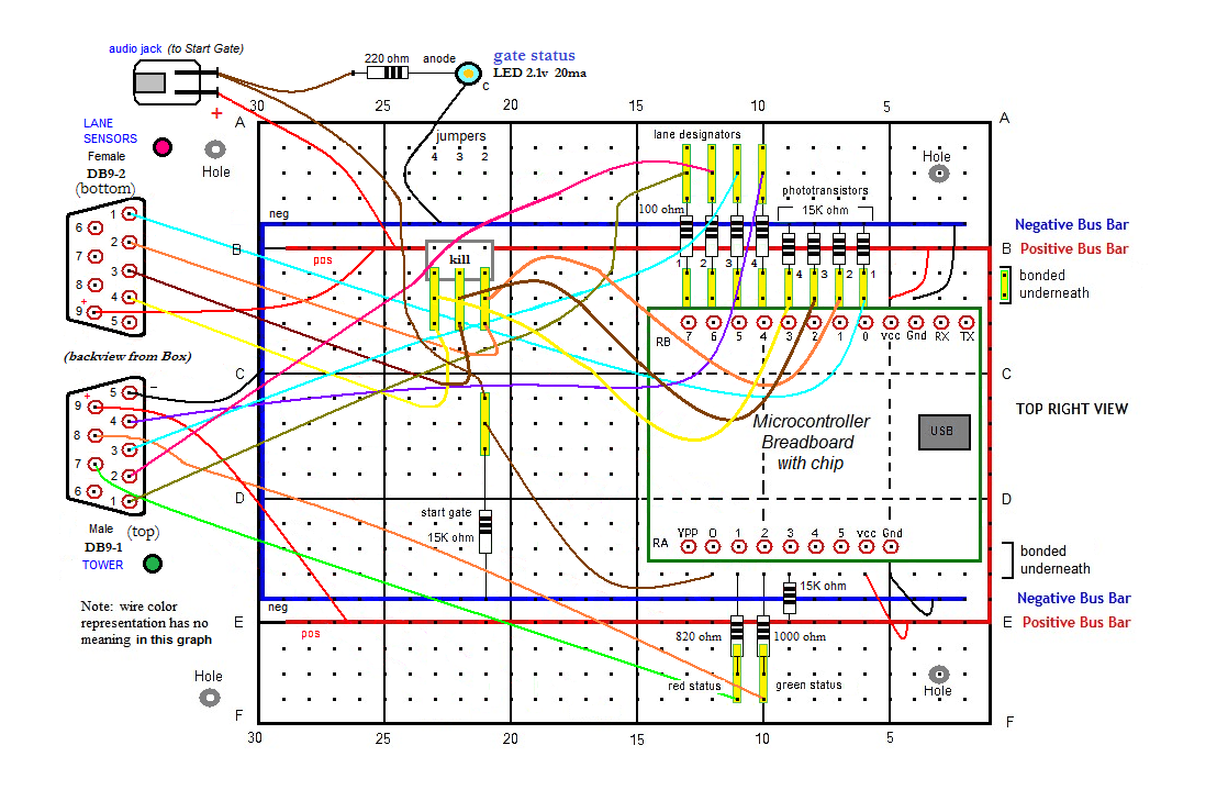 hight resolution of breadboard wire assignments