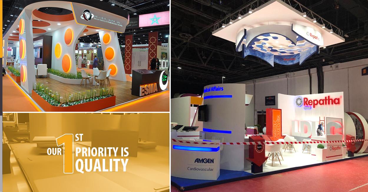Exhibition Shell Scheme Manufacturers : Exhibition stand manufacturer in dubai grand radium