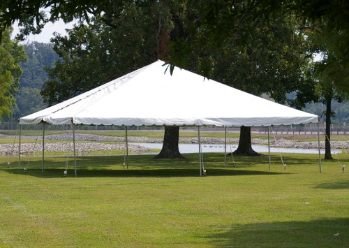 40x40 Tents (Frame Tents, Trac Tents or Pole Tents)