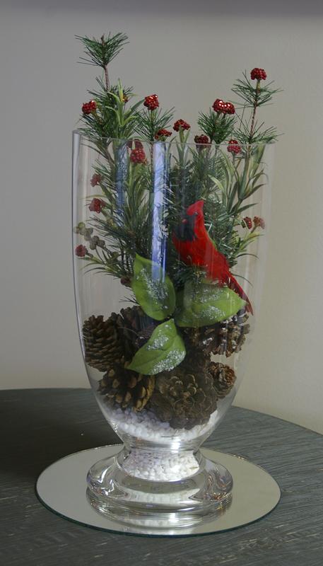 Glass Apothecary Vase