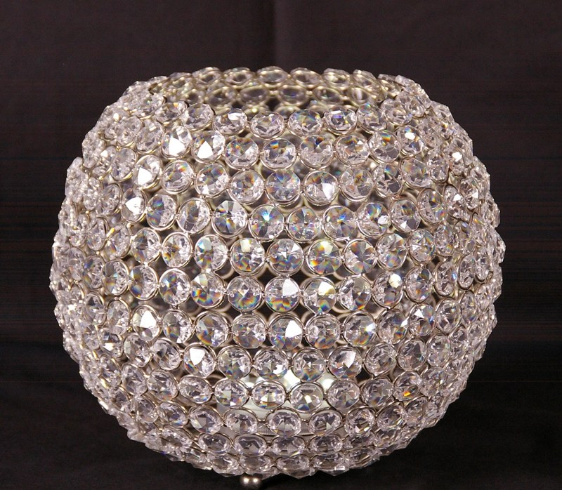 Centerpieces Crystal Beaded Globe