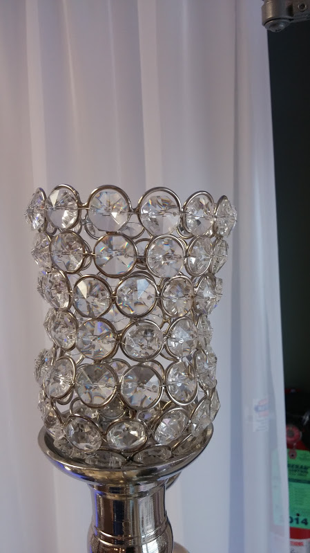 Small Crystal Tulip Votive Holder