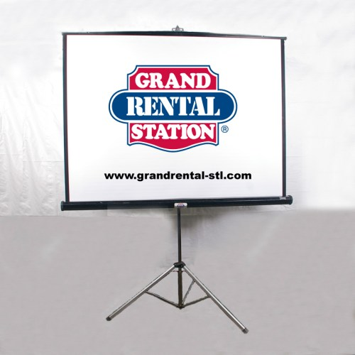 70x70 Projector Screen