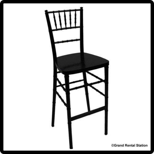 Black Chiavari Bar Stools