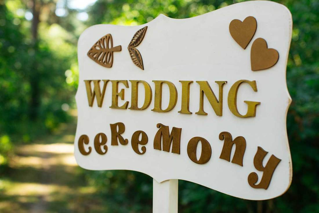 15 Helpful Wedding Signs you must have for your guests