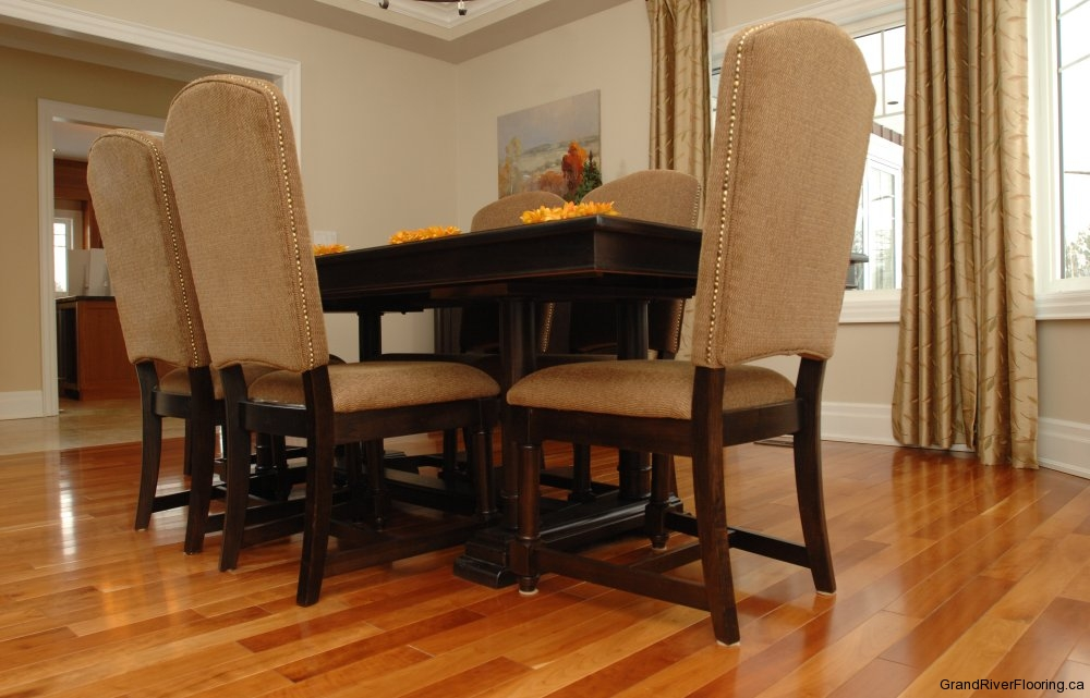 Dining Rooms With Hardwood Floors Grand River Flooring Inc