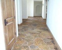 Interior Natural Flagstone Ideas