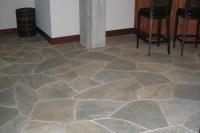 Interior Natural Flagstone Ideas   Grand River Stone Ltd.