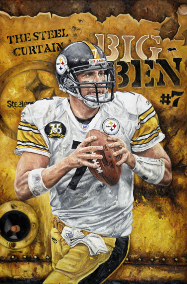 Ben Cards Roethlisberger