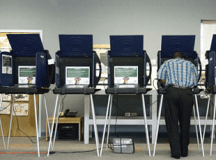 Primary Elections Draw Few Voters