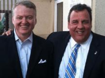 Curtis M. Loftis Jr. and Chris Christie