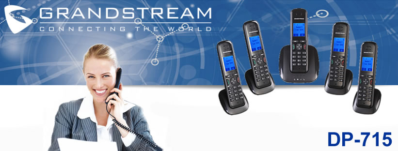 Grandstream DP715 Dect Phone with Dect Base