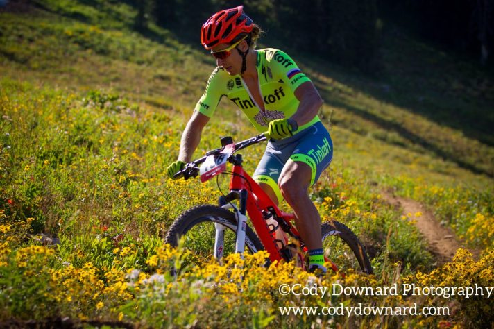 Pierre's Hole 50/100 MTB Race at Grand Targhee Resort.