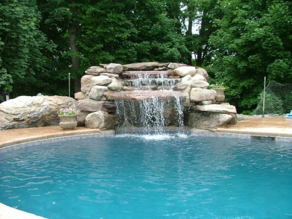 Waterfall Pools in Morristown, NJ