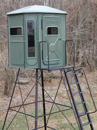 redneck hunting blind