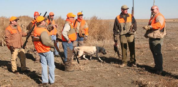 pheasant hunting etiquette
