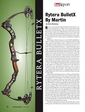 Rytera BulletX by Martin