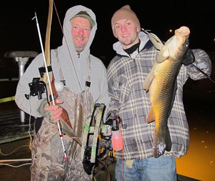 bow fishing sucker