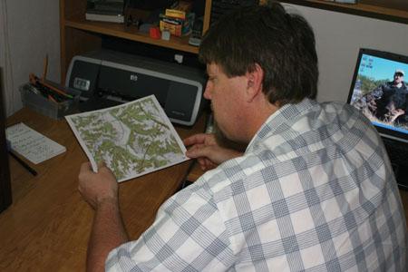 topo map deer