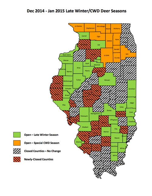 Illinois DNR makes deer season adjustments