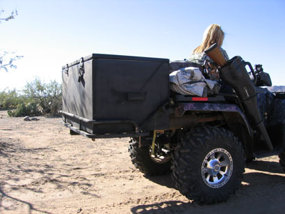 atv storage box