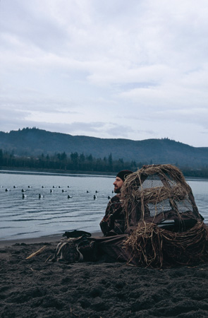 diving duck hunting
