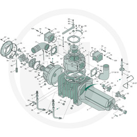 Pump body (type PNR 14200 D)