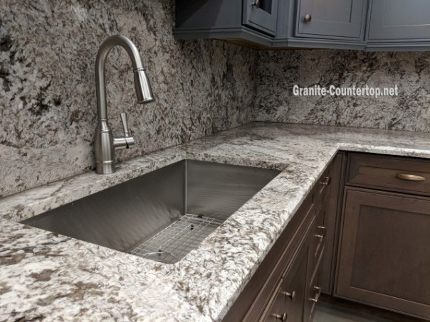 White granite countertops long island NY