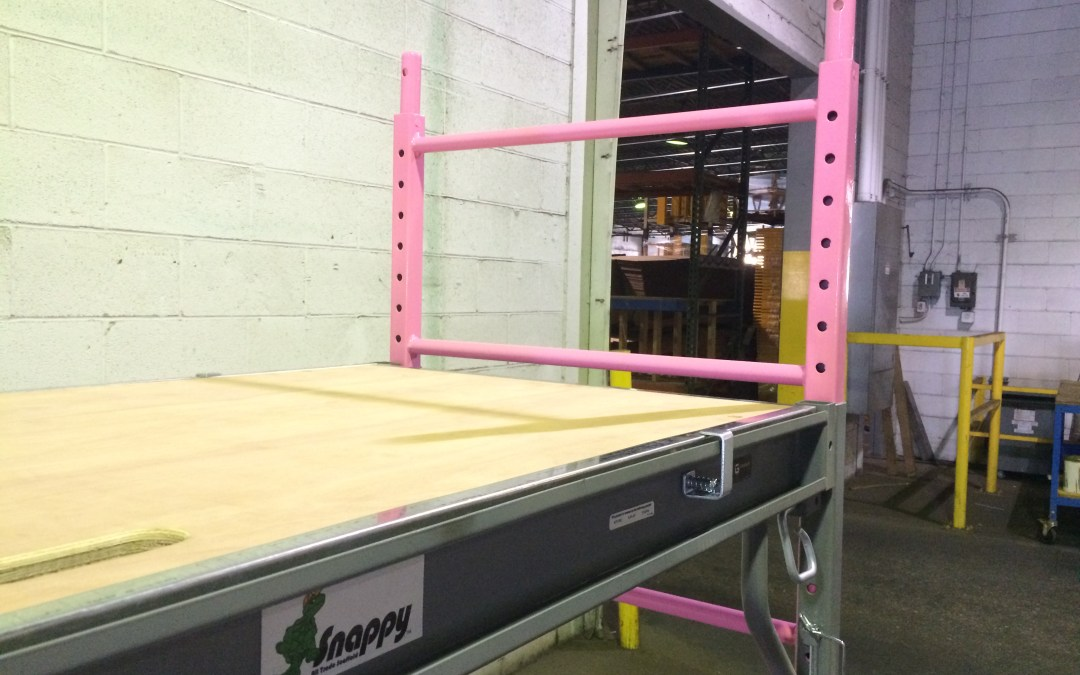 Pink Snappy Scaffolding? Find out why it's worth buying…