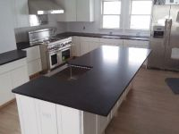 Absolute Black Honed | Granite Countertops Seattle