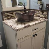 Granite Bathroom Vanity | Black Granite Bathroom Vanity ...
