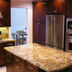 Best Material For Kitchen Sink Faucet Filter System Golden Persa | Granite Countertops Seattle