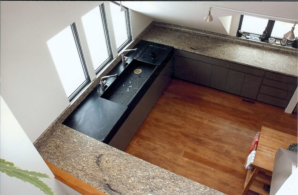 grey kitchen countertops faucet with side sprayer gray soapstone   granite seattle