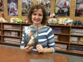 Author Julie Berry Visiting Kearns High School Library