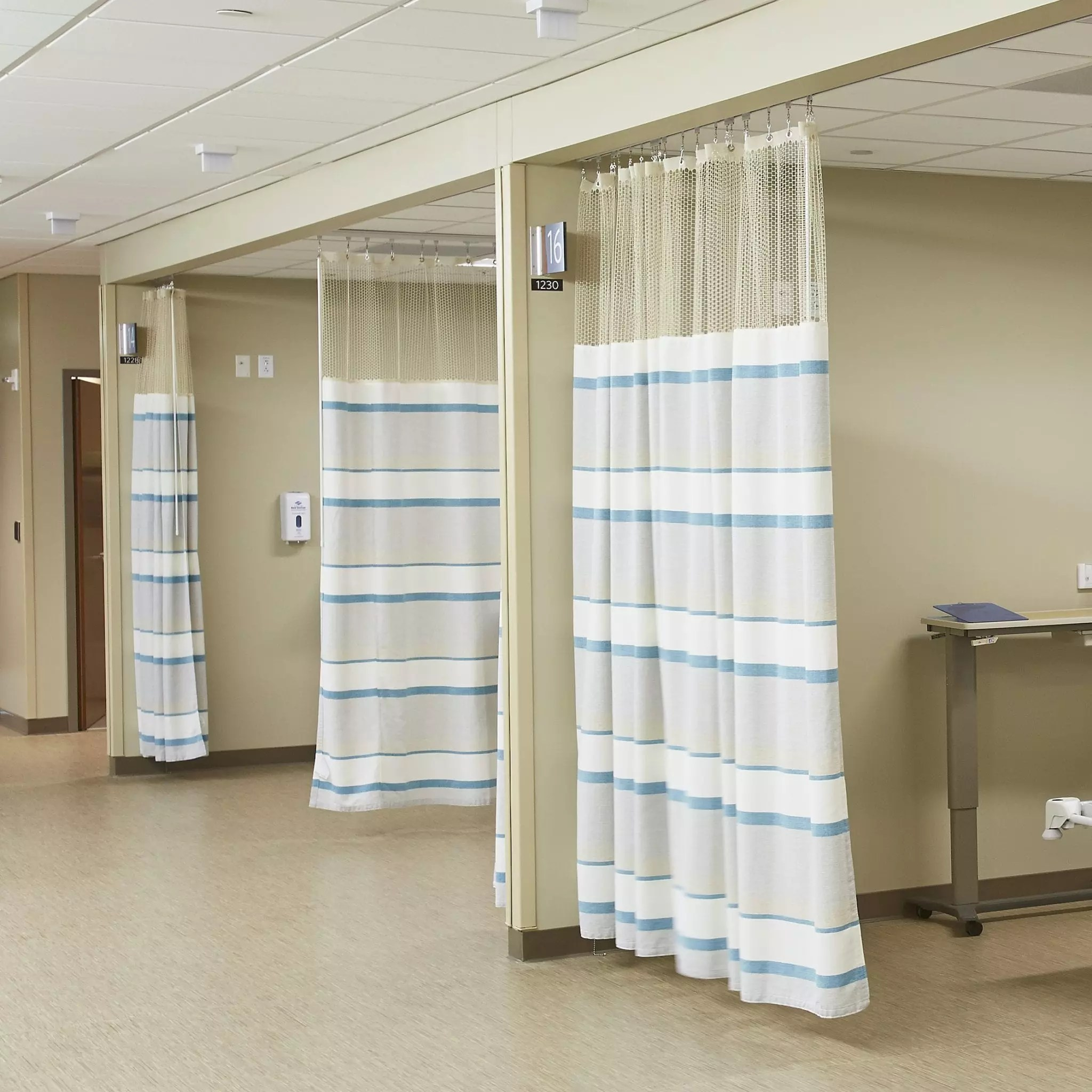 hospital curtains cubicle track