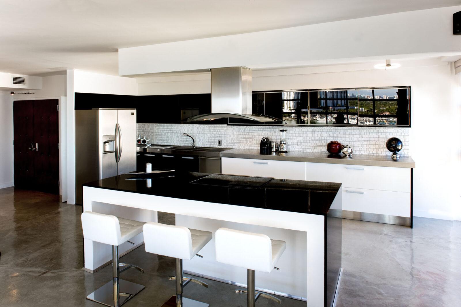 Black And White Kitchen Design Ideas Granite