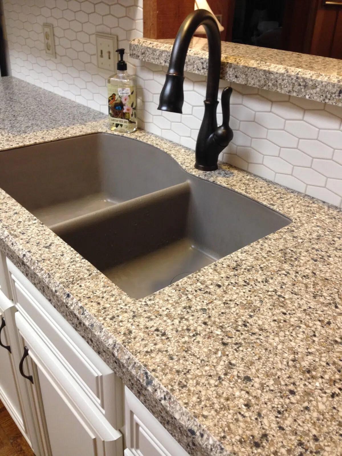 choosing a sink for granite countertops