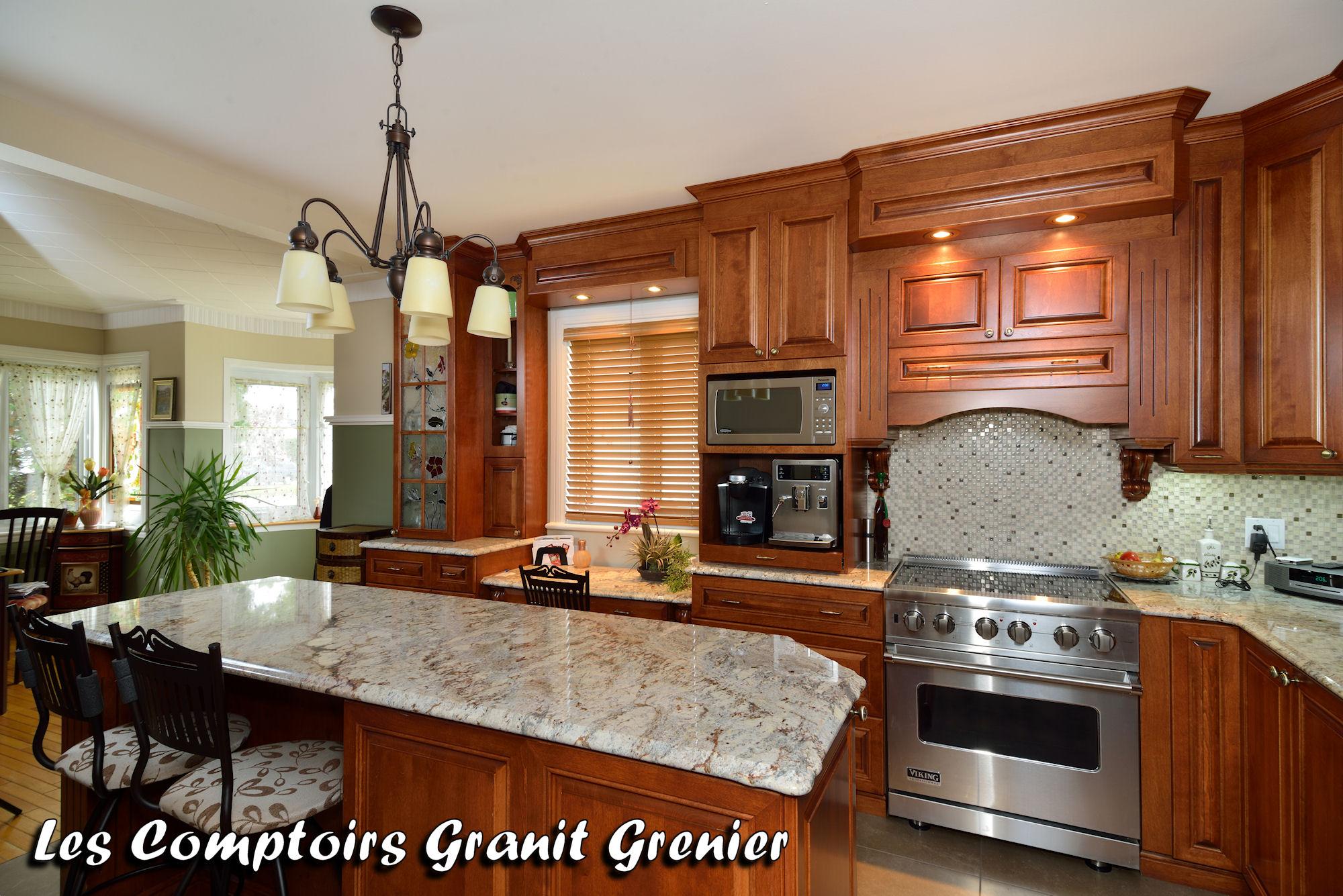 Comptoir De Cuisine En Granit
