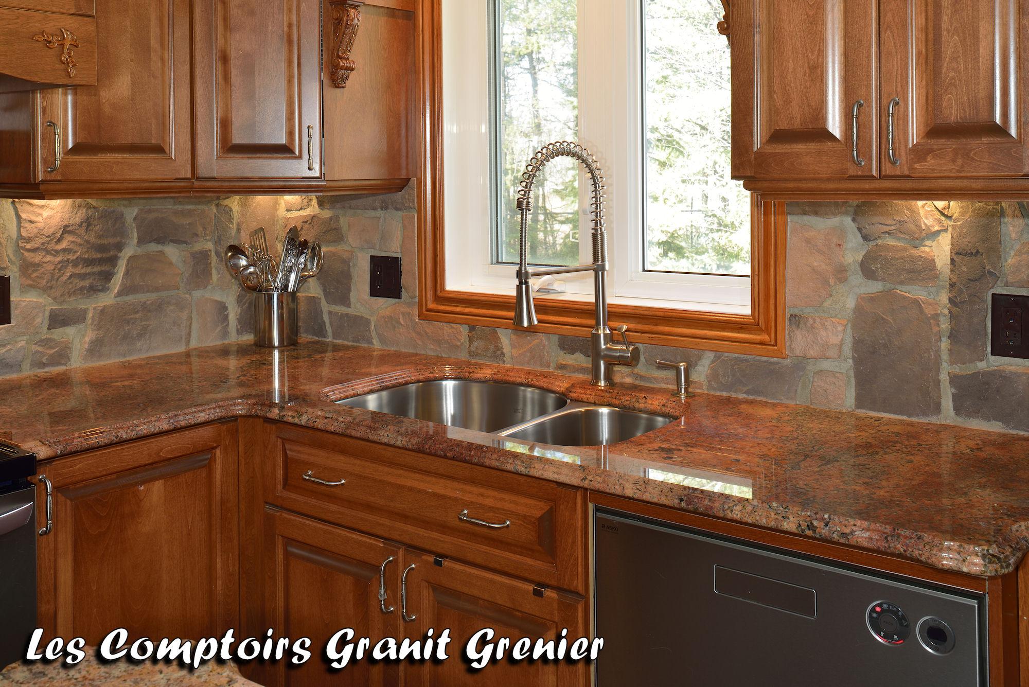 Comptoir de Granit et Quartz  Ralisations de cuisines et vanits