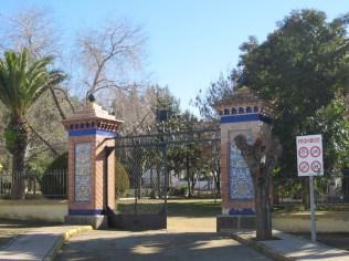 Puerta principal Parque Municipal