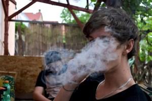 joint ganja smoke