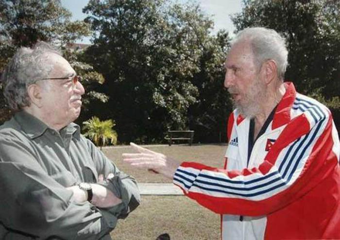 Fidel Castro y Gabriel Garcia Marquez