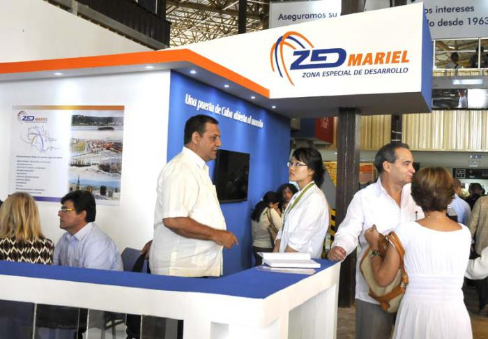 32 Feria Internacional de La Habana, Estan de la Zona especial del Mariel.