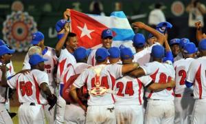 Cuba recuperó cetro regional del beisbol en Veracruz