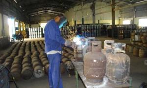 Producción de cilindros para gas licuado de 10 kg - balitas de gas