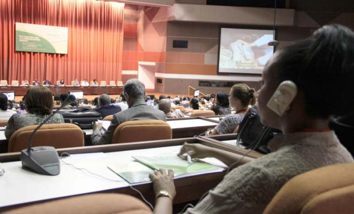 Convención Internacional de Salud Pública, Cuba 2015. Delegados en el Plenario.