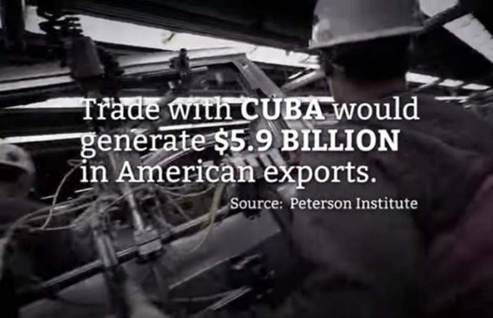 publicidad Engage Cuba