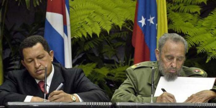 Fidel y Chávez fueron impulsores de la integración latinoamericana. Foto: Granma