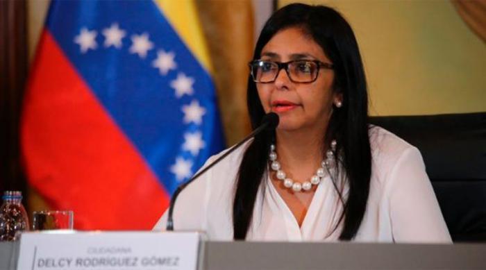 La canciller venezolana, Delcy Rodriguez.