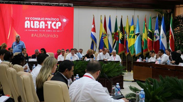El canciller cubano, Bruno Rodríguez Parrilla, inauguró el XV Consejo Político del Alba en La Habana